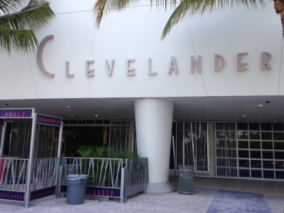 clevelander outside view