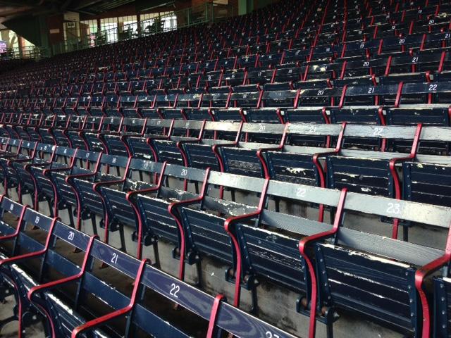 wood seats