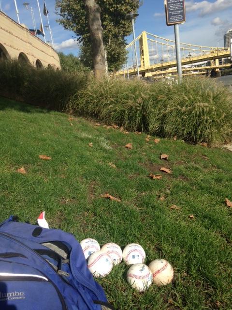 found baseballs