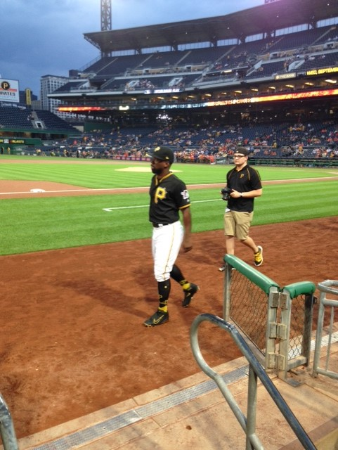 cutch on field